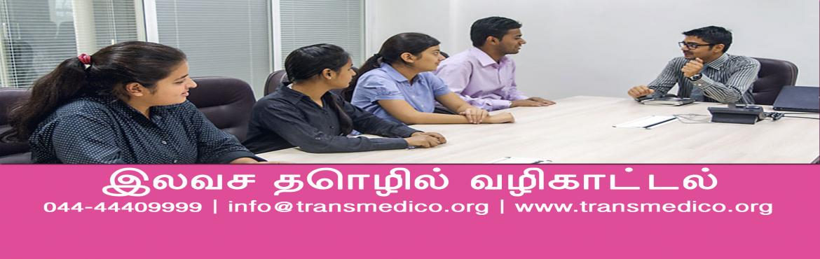 Book Online Tickets for Free MBBS Guidance And Couseling, Chennai. Pioneer In Career Guidance & Counseling Since 2002  Please Register On Below Link: http://transmedico.org/register-online/
