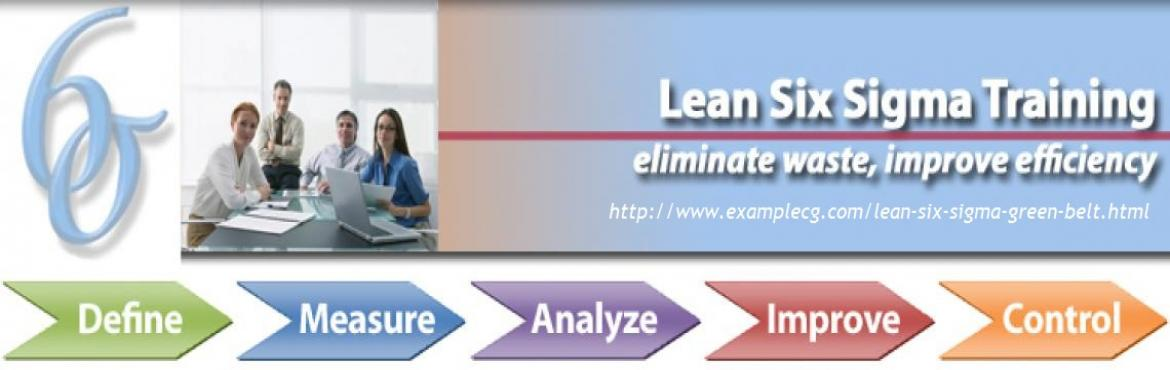 Lean Six Sigma Green Belt Training And Certification Workshop Sep