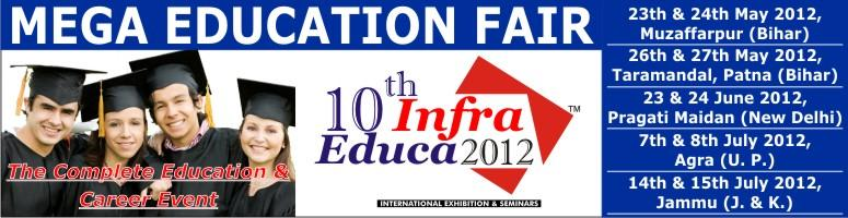 Book Online Tickets for Infra Educa, NewDelhi. 