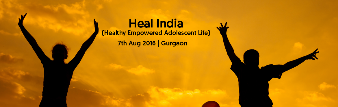 Book Online Tickets for Heal India (Healthy Empowered Adolescent, Gurugram. Heal India is a Workshop organised by Dr. Suboohi Rizvi, Gynecologist and Obstetrician, MBBS, D.G.O (Gold Medalist) for Parents and teenagers. Workshop is designed to address the growing concern among parents over the changing society and the la