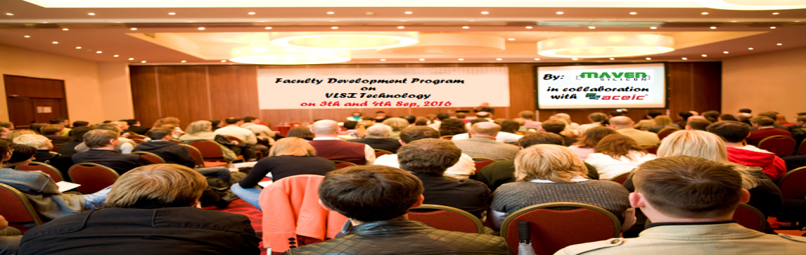 "Book Online Tickets for Workshop: Faculty Development Program FD, Bengaluru. Invitation from Maven Silicon!!Maven Silicon, Bangalore is organizing a Faculty Development Program (FDP) on ""Functional Verification"" in collaboration with Aceic Design Technologies on 3rd and 4th, September 2016.This workshop will give"