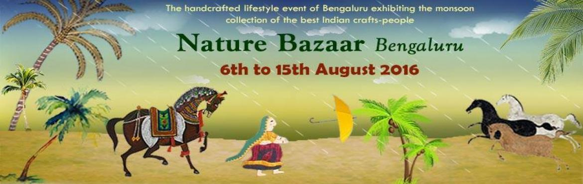 Book Online Tickets for Dastkar Nature Bazaar Bengaluru, Bengaluru. The handcrafted lifestyle event of Bengaluru exhibiting the monsoon collection of the best Indian crafts-peopleMore than 100 crafts groups and artisanal designers showcase their® Handlooms ® Textiles ®Handicrafts ® Printed & Embro