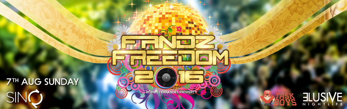 Book Online Tickets for FRNDZFREEDOM 2016, Calangute. The King Of All Dance Parties | FRNDZFREEDOM 2016 is back & you can expect everything spectacular. So join us at Goa\'s most iconic Friendship Day event celebrating 9 years of Friendship.Mark your calenders and prepare yourself for Goa"|1170|370|?|3d213ee3c425a7d7c8f507b4b0c48f16|False|UNLIKELY|0.3143264651298523
