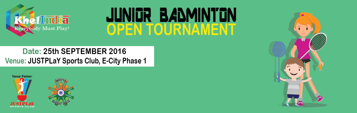 Book Online Tickets for KhelINDIA Kids Open Badminton Tournament, Bengaluru. KhelINDIA continuously strives to bring more events, more excitement and more enthusiasm to Bangalore! We believe that no matter what - Everybody Must Play!  Rules for the tournament  The tournament is open to all kids in schools across India.