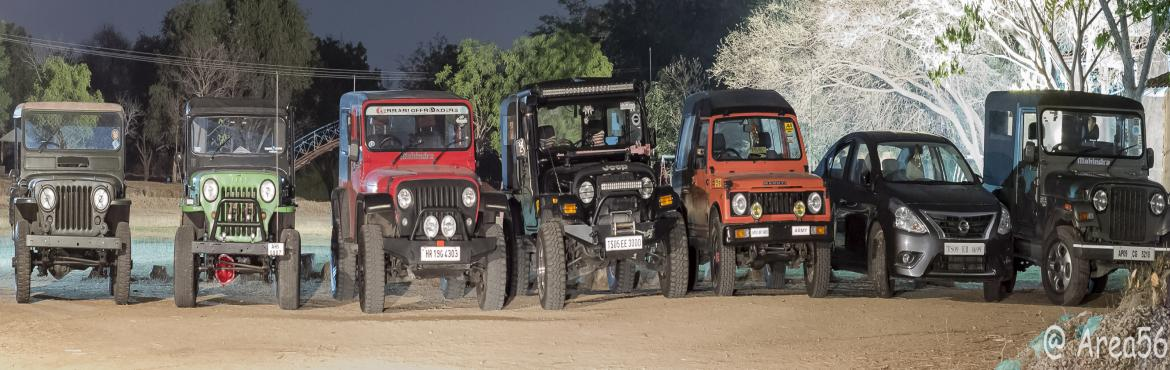 Book Online Tickets for A date with your Jeep : Break Fast - OTR, Hyderabad. Early morning Off the Road !! No better way to spend sunday morning with your Rig followed with some delicious break fast.  Come join us for \