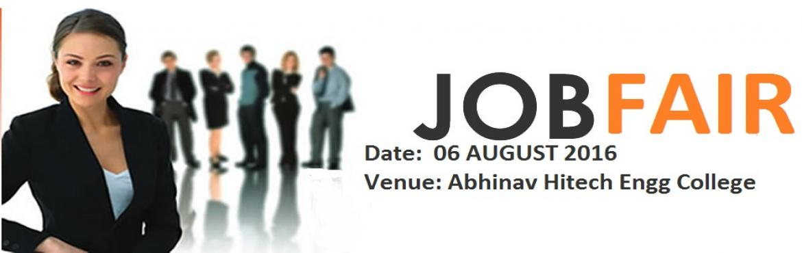 Book Online Tickets for JOB-FAIR August 6th 2016 @Abhinav-Hitech, Hyderabad. JOB-FAIR August 6th 2016 @ Abhinav-Hitech College of Engineering,Chilkur Balaji Temple Rd, Hyderabad. Job Seekers:- This Job fair will create 1000\'s of Job Openings for freshers  * Any Degree, B.tech/B.E, M.B.A/M.C.A, M.TECH 2016,2015