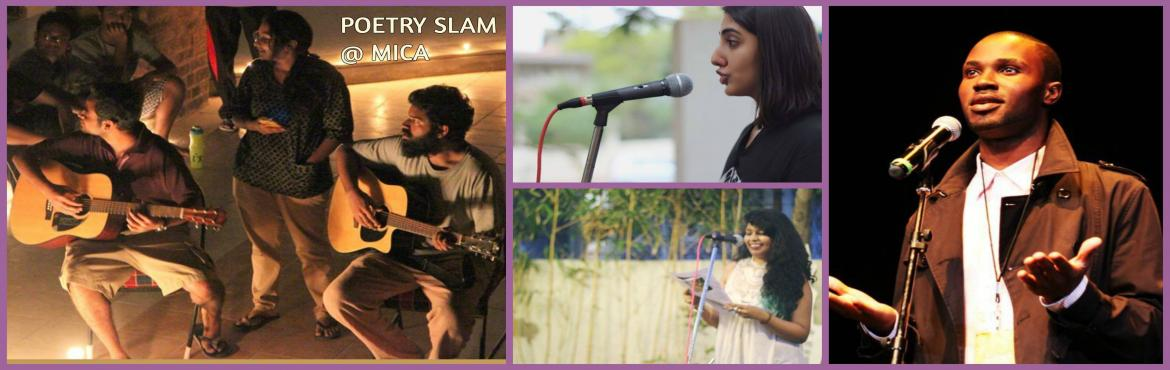 Book Online Tickets for Ahmedabad Poetry Slam, Shela.  You are invited to the finale poetry slam at Ahmedabad International Poetry Festival. At the show, international performance poets Kyle Louw and Ikenna Onyegbula will perform alongside youth poets from the very soil of Ahmedabad.    31st J