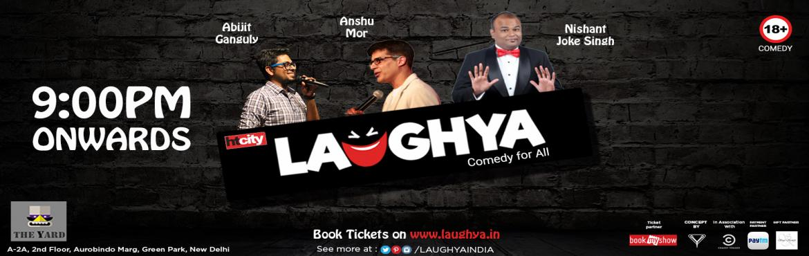 Book Online Tickets for Stand Up Comedy at The Yard, Green Park, NewDelhi. If you need a good laugh on Tuesday night in the vicinity of Green Park, you should look no further than \'The Yard\'. Bringing best of comic acts and puts up on the platter for you to enjoy it, 2nd August, 9 P.M.Powered By: YAHAVI