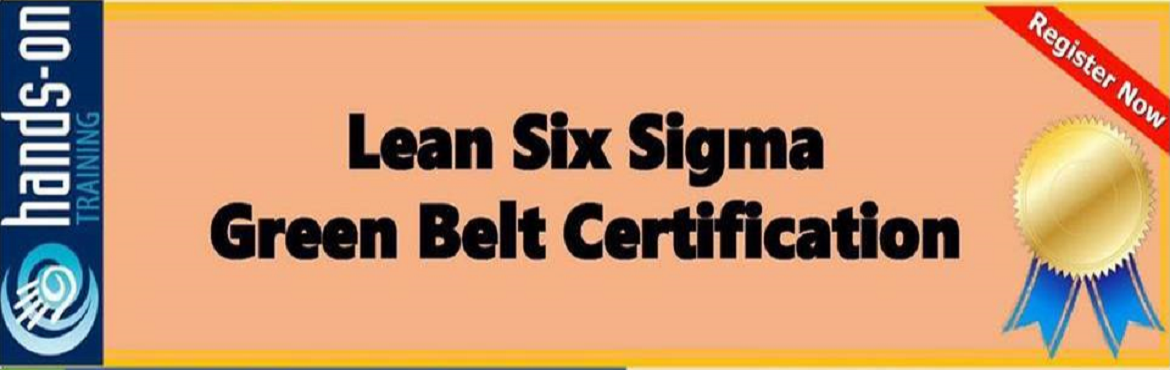 Book Online Tickets for Lean Six Sigma, Ahmedabad. Lean Six Sigma Green Belt Certification Course Faculty: Er Darshan Shah Course fees Rs 1400 includes course material, lunch, refreshments
