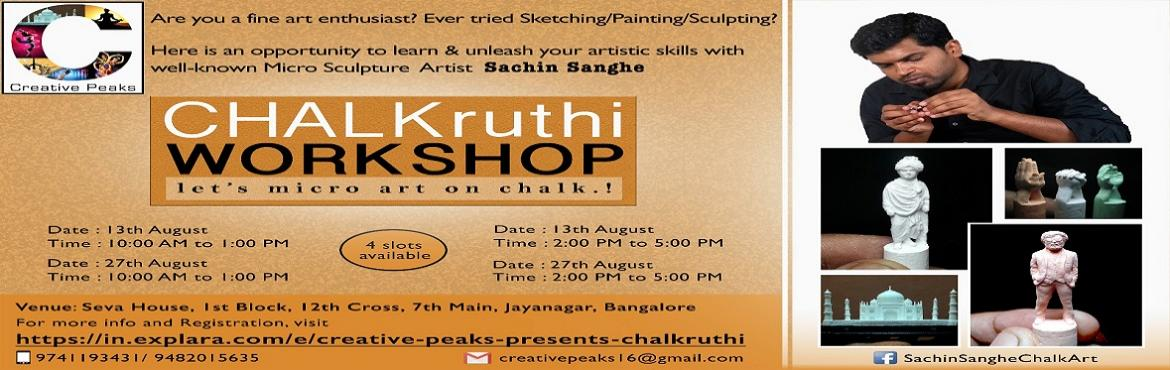 Creative Peaks presents Chalkruthi by Sachin Sanghe