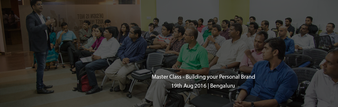 Master Class - Building your Personal Brand