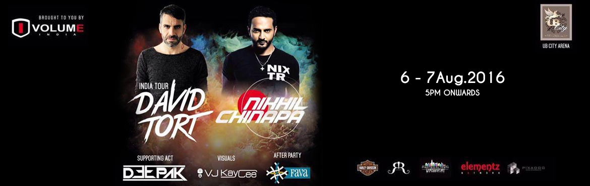 Book Online Tickets for David trot(india tour) and Nikhil chinna, Bengaluru. David trot(india tour) along side with countrys fame nikhil chinnappa opening duties dj deepak!Venue - UB city arena After party - Fava Gates open at 5pm>limited passes