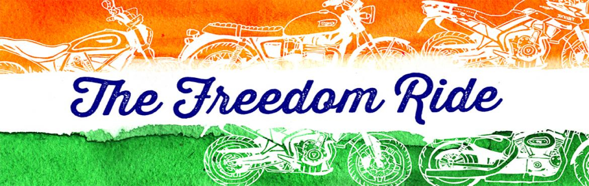 Book Online Tickets for Freedom Ride, Gurugram. Motoziel is organizing the \'Freedom Ride\' in association with Rang De on 15th August 2016. For further details and registration, please visit http://motoziel.com/freedomride/ Starting Point: Motoziel Pvt. Ltd. (Vipul Trade Centre, Sohna R