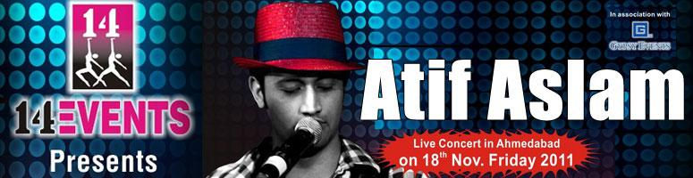 Book Online Tickets for ATIF ASLAM Live Music concert @ Ahmedaba, Ahmedabad. With a soulful voice and humble demeanor, Atif Aslam is one of the most gifted vocalists in the worldwho has the natural ability to both perform and entertain.