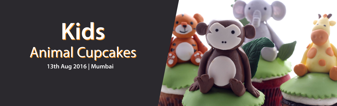 Book Online Tickets for Kids: Animal Cupcakes, Mumbai. Hardly anyone can resist the tempting power of a delicious cupcake with an adorable design, and especially not kids- that's why we've created this exciting Kids Animal Cupcakes Class! In this fun and educational class, children will be ta