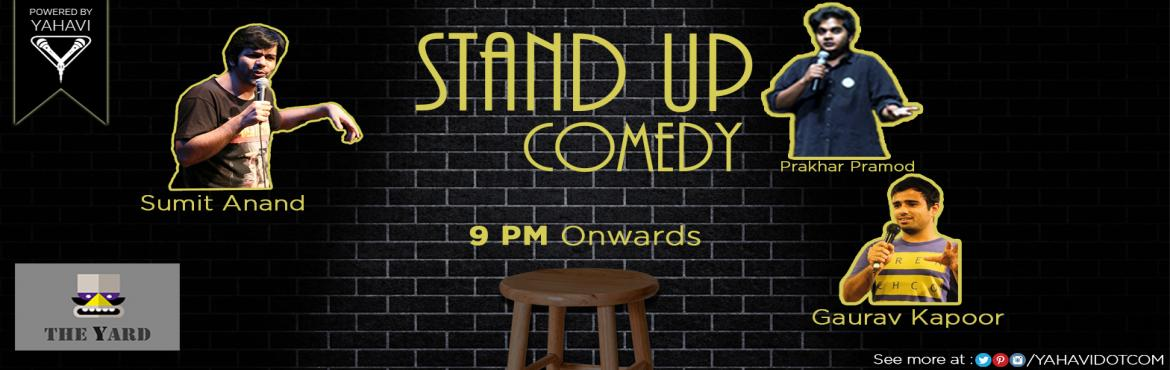 Book Online Tickets for Standup Comedy at The Yard, Green Park, NewDelhi. If you need a good laugh on Tuesday night in the vicinity of Green Park, you should look no further than \'The Yard\'. Bringing best of comic acts and puts up on the platter for you to enjoy it on 9th August , 9 P.M.Book Tickets Now: http://bit.