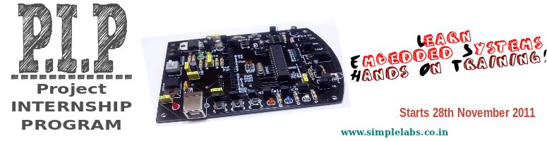 Project Internship Program-Embedded Systems