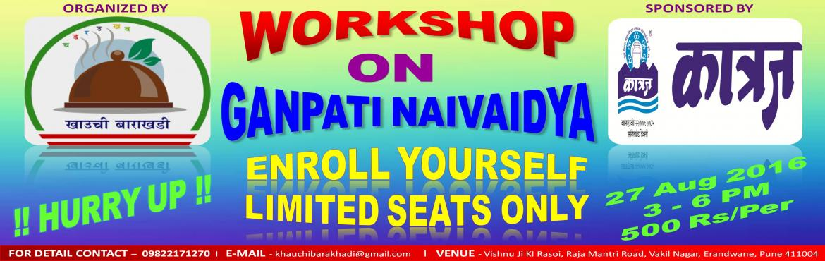 Cooking Workshop - Ganpati Naivaidya copy