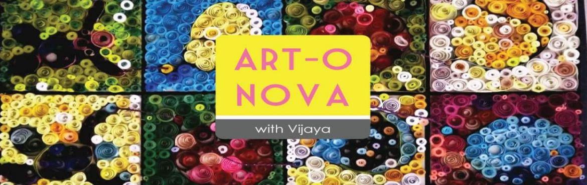 Book Online Tickets for Art-o-Nova with Vijaya, Mumbai.   Making art in nature, let the artist in youshine like a supernova with the help of family and friends.The workshop will entail three small experiments to understand hand & eye coordination, an explaination on how one uses the exerci