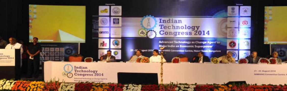 Book Online Tickets for Indian Technology Congress - 2016, Bengaluru. India's march to economic progress is dependent on strengthening its regional competitiveness to attract industry. It is essential for Business Leaders across the private and public enterprise to leverage technological advances to create an env