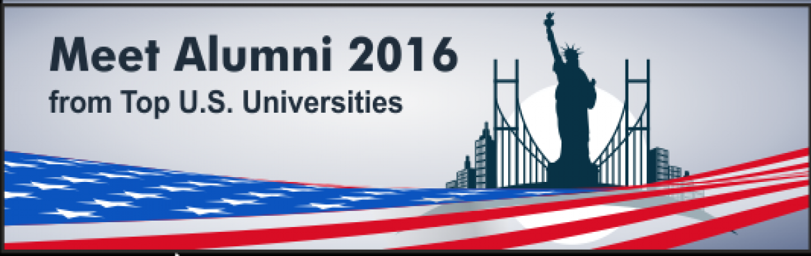 Book Online Tickets for MEET ALUMNI 2016 from Top U.S. Universit, Chennai. Date: Saturday, 20 August 2016 Register at: http://bit.ly/2ayScil Time: 2:30 PM Venue: T Nagar Social Club, Chennai, India. Helpline: +91 87545 70301 Thinking about undertaking a Masters or Ph.D. abroad? Need to understand the application process, re