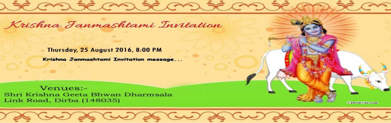 Book Online Tickets for Shri Krishna Rass Leela 2016, Dirba. Shri Krishna Rass Leela 2016  Venue :- Shri Krishan Geeta Bhwan Mandir Link Road, Dirba (148035)