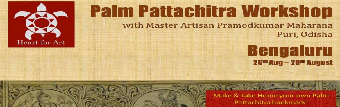 Book Online Tickets for Bengaluru Odisha Pattachitra Workshops, Bengaluru.   Pattachitra is a traditional painting art of Odisha-based on Hindu mythology and especially inspired by Jagannathand Vaishnavacult. All colours used in the Paintings are natural and are done the old traditional way by Chitrakarasof Odisha. The name