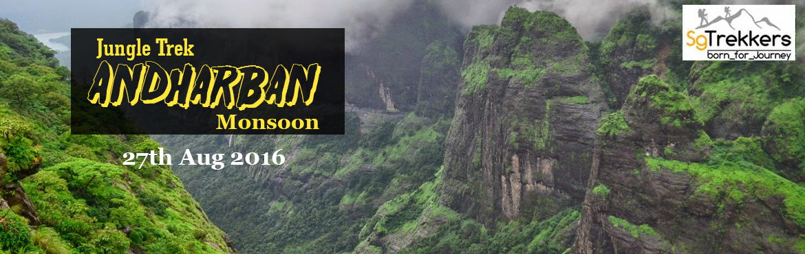 Andharban Monsoon Jungle Trek on 27th Aug 2016