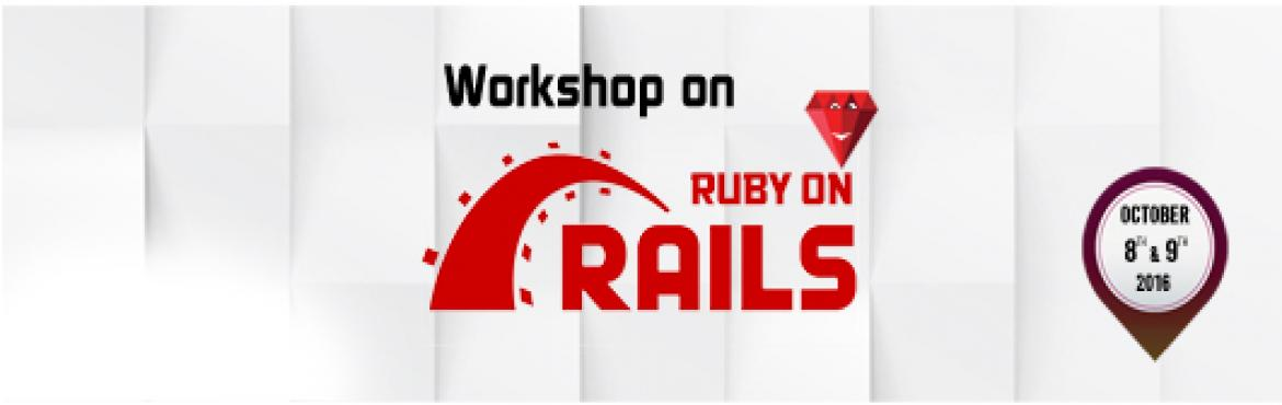 Book Online Tickets for Ruby On Rails Workshop copy, Chennai. Aristocrat technical mentorship series presents Ruby on Rails program. It is an initiative of Aristocrat IT solutions (P) Ltd. It is a two days workshop . Ruby on Rails is a webframe work built on Ruby Programming Language . Ruby is highly developer