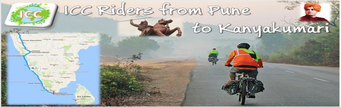 Pune to Kanyakumari on cycle