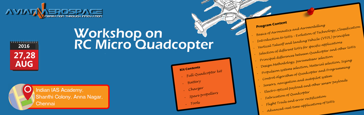 Two day workshop on RC Micro Quadcopter