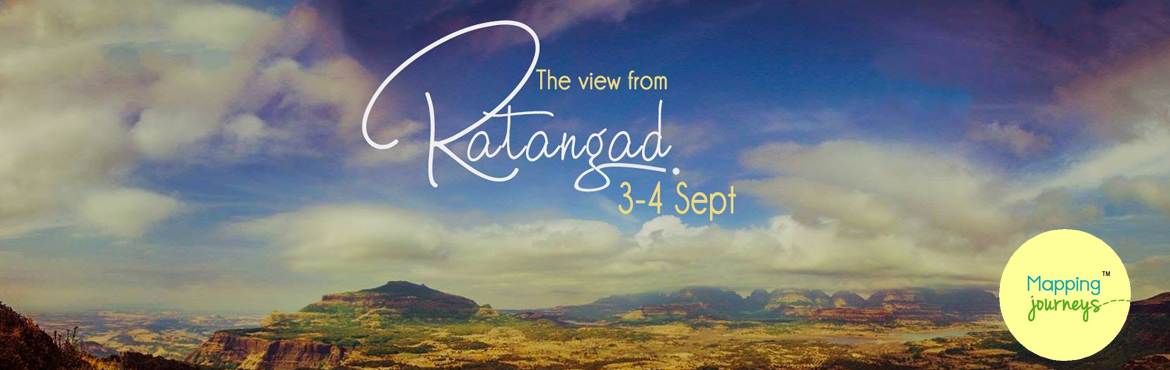 Trek to Ratangad on 3rd-4th Sept 2016 with Mapping Journeys