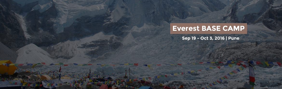 Book Online Tickets for  Everest BASE CAMP, Pune. Information About Everest Base Camp:-The Everest, region is one of the most famous tourist destinations in Nepal , which is famous for its fantastic mountain peaks and the beauty on the hills. Most of the places to this spot go through ridges and tra