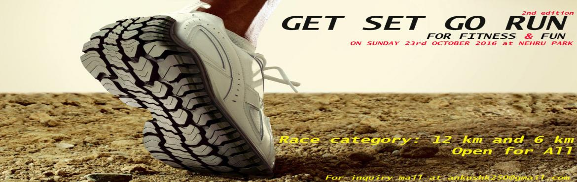 Book Online Tickets for GET SET GO RUN 2ND EDITION, NewDelhi. Isn't it great when you can do something great for yourself We will respect the participants that are registered, and give them an enjoyable, well planned and better race experience. When you participate in an event with the Run 4 a Cause, you