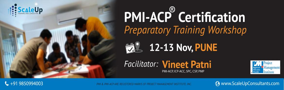 Book Online Tickets for PMI Agile Certified Practitioner (PMI-AC, Pune. About PMI-ACP Agile Training:  PMI-ACP® certification is a flagship Agile certification from the Project Management Institute (PMI). The PMI-ACP® recognizes knowledge of agile principles, practices and tools and techniques across ag