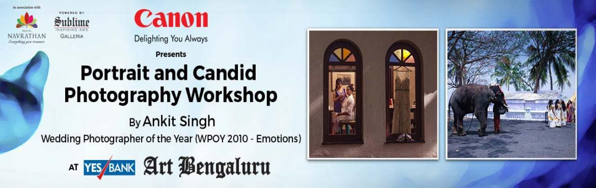 Book Online Tickets for Canon Presents A Photography Workshop fo, Bengaluru. On the occasion of World Photography Day, children can learn the art of photography through this specially curated workshop by Canon, under the adept guidance of Suryarshi Mitra. By experimenting with a camera, only at YES Bank Art Bengaluru \'16.A l