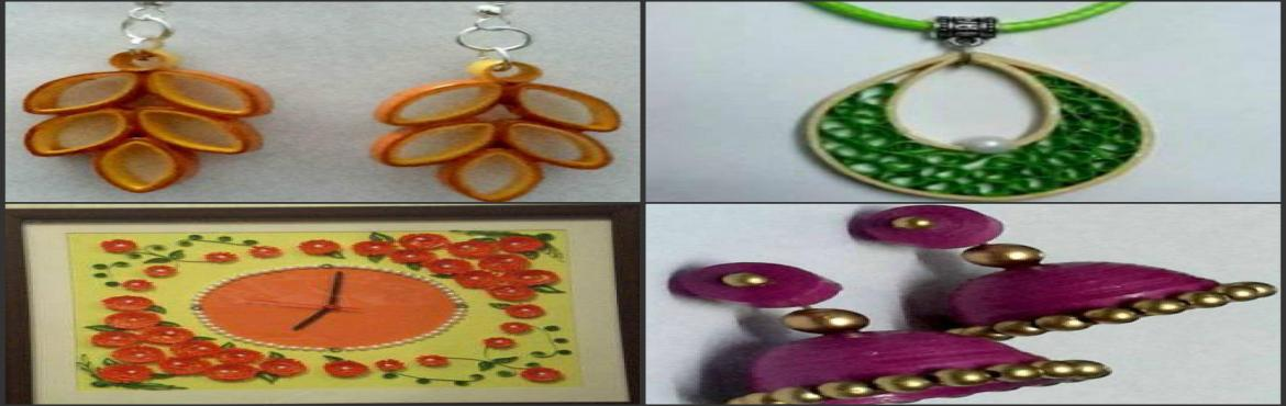 Book Online Tickets for Quilling Workshop by vandana, Bengaluru. Deion This festive season make your own beautiful jewellery to match your dress.    Workshop Conducted by expert teachers. They help you in creating exquisite decorative jewellery and wall decor which add color to your dream home decorati