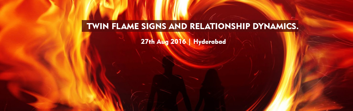 Book Online Tickets for TWIN FLAME SIGNS AND RELATIONSHIP DYNAMI, Hyderabad. Throughout the course of your life you may have had unusual or powerful dreams, visions, or fantasies of a mysterious person. You get a particular feeling and the energy of the individual feels familiar, as if it is someone you have already met in th
