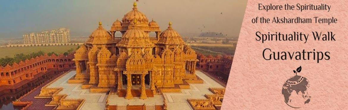 Book Online Tickets for  Exploring the Spirituality of the Aksha, NewDelhi. Deion Akshardham or Swaminarayan Akshardham complex is a Hindu mandir, and a spiritual-cultural campus in New Delhi, India.\'Akshardham\' means the divine abode of God. It is hailed as an eternal place of devotion, purity and peace.Each element of Ak