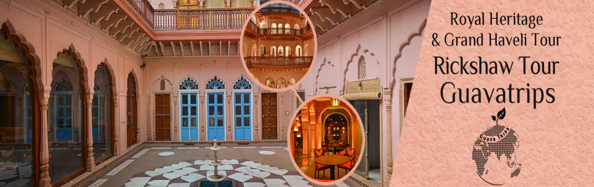 Book Online Tickets for Royal Heritage And Grand Haveli Tour , NewDelhi. We will take you to a walking and rickshaw tour of Chandni Chowk in which you will get to see all the famous places in old delhi. Our tour starts from a visit to largest Mosque of India (Jama Masjid), then we will take you to Asia's largest spi