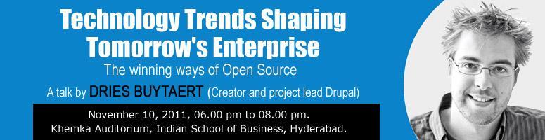 Book Online Tickets for Technology Trends Shaping Tomorrow\'s En, Hyderabad.  