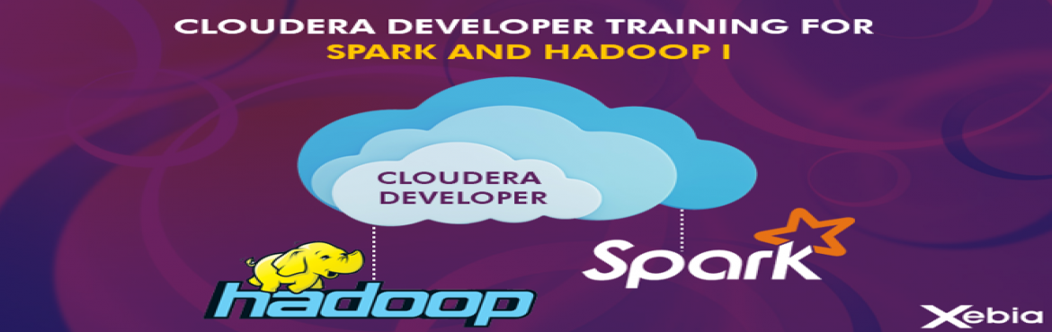 Book Online Tickets for Cloudera Developer Training For Apache S, Pune. Cloudera Developer Training For Apache Hadoop & Spark Cloudera's 4-day training program gives Hadoop developers the expertise to harness the full power of the open source technology and bring their organizations\' data to life . Xebia is an