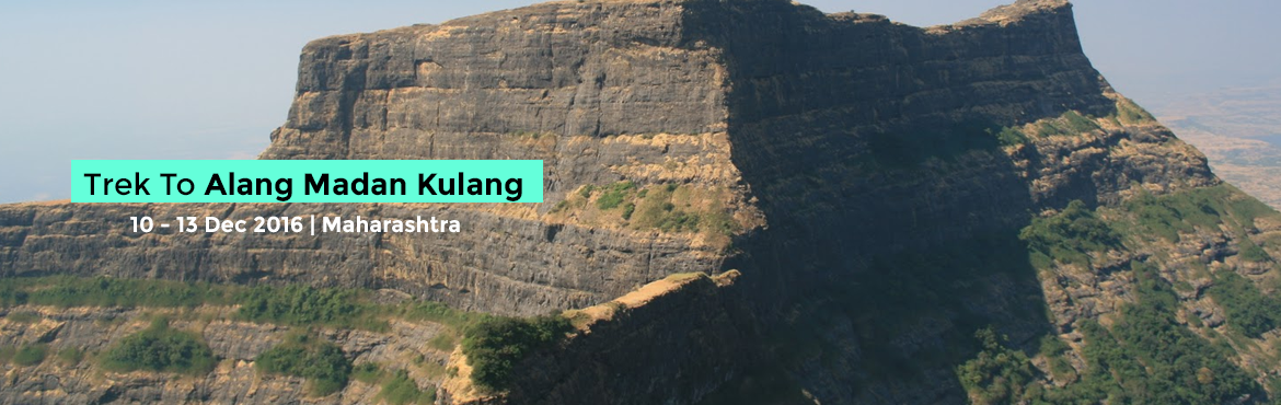 Book Online Tickets for Trek To Alang Madan Kulang Forts, Nashik. Alang-Madan-KulangTrekAMK is undoubtedly one of the most demanding trek in Maharashtra. If you haven't done it you haven't finished trekking in Maharashtra. This trek is the test of your mental & physical stamina, confidence & end