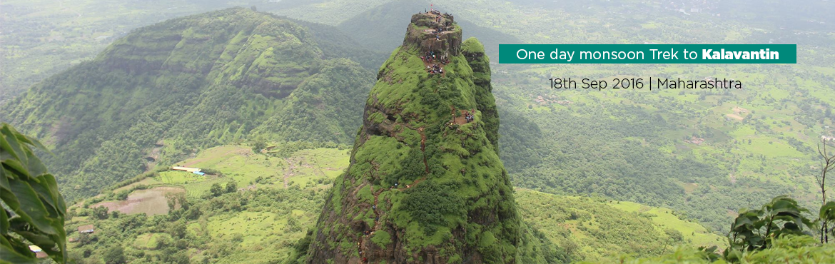 One day monsoon Trek to Kalavantin fort