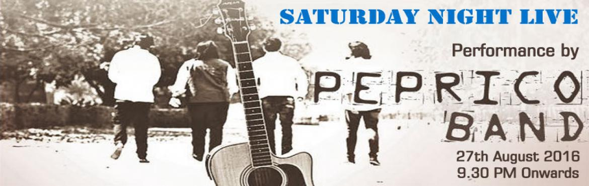 Saturday Live: Performance by Peprico