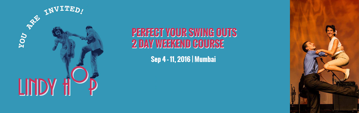 Book Online Tickets for PERFECT YOUR SWING OUTS - 2 DAY WEEKEND , Mumbai. This crash course workshop covers SWINGOUTS which are the heart of Lindy Hop and the most essential step of Lindy Hop! At the same time SWINGOUTS are the most difficult ones to get! We rotate partners during the workshop. Basic knowledge of Swing out