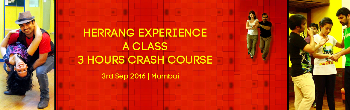 Book Online Tickets for HERRANG EXPERIENCE - A CLASS - 3 HOURS C, Mumbai. DETAILS COMING SOON We rotate partners during the workshop. Basic knowledge of Swing outs necessary to be eligible for this course. The course covers Swingouts in the old school and new school way helping understand the finer elements of Swingouts ai