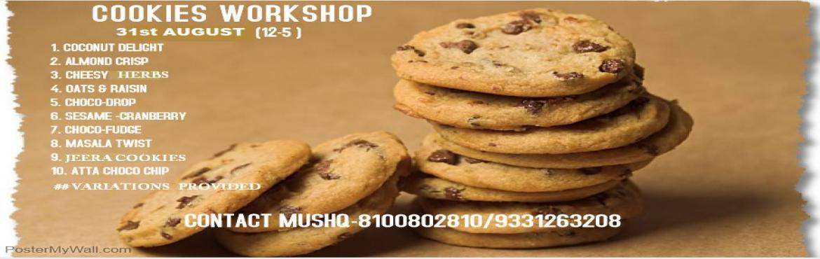 Eggless Cookies Workshop