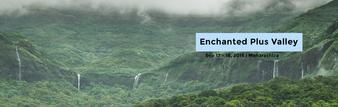 Book Online Tickets for Enchanted Plus Valley, Mulshi. Dear Adventure Enthusiasts,Discover yourself in the breathtaking beauty of the enchanted plus valley. The great amphitheater of Tamhini Ghat welcomes you its well preserved forest, this trek falls on one of the most scenic routes only 75 km from Pune