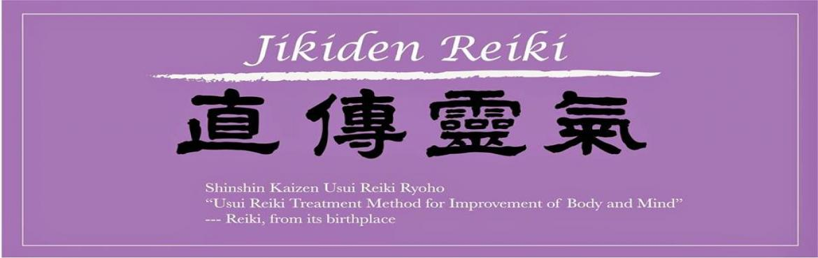 Book Online Tickets for Jikiden Reiki Workshop with Shihan Amit , Bengaluru. If you are ready and willing to heal your life, realize that you are in the driver's seat. Begin a personal development journey in ways to improve yourself, your relationships and your overall life every day.Jikiden Reiki is an astonishing heal
